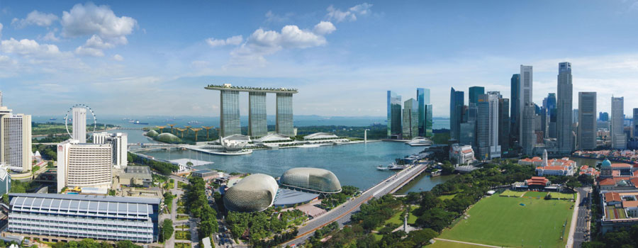 Cheap business class flights to Singapore