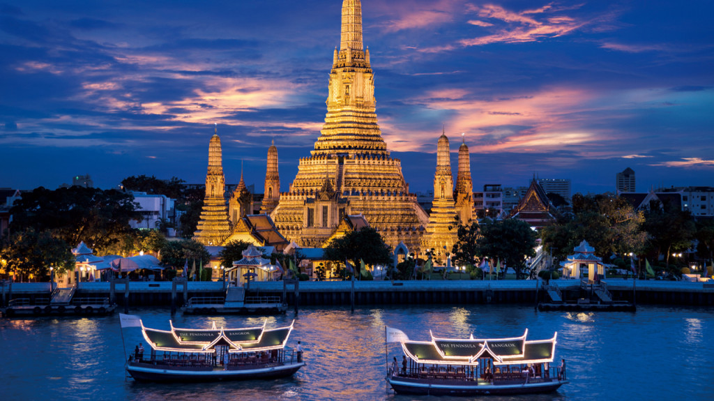 business class to bangkok