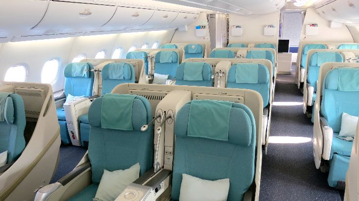 Cheap Korean Air Business Class Tickets Deals Flights