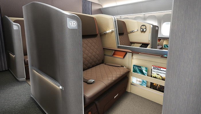 singapore airline business class seats