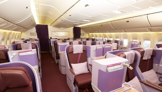 thai airways review business class
