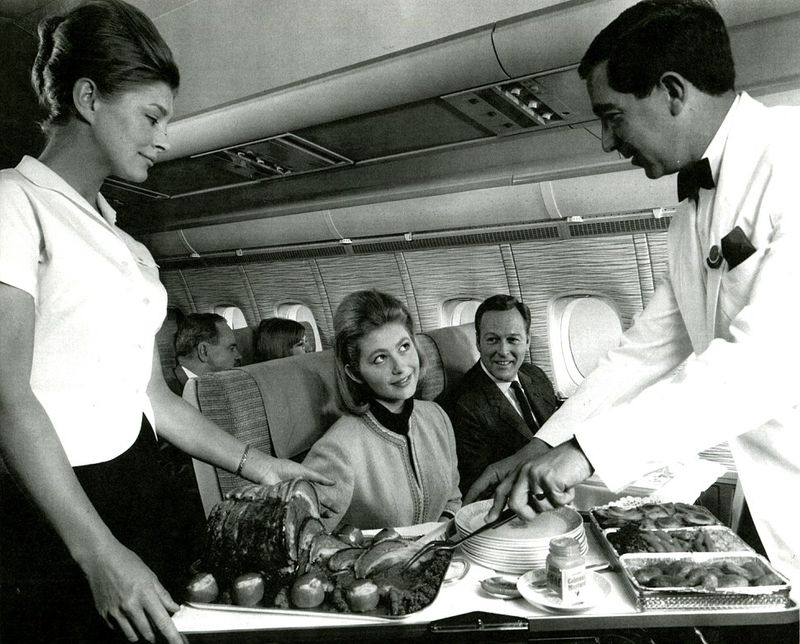 first class at Mid-1960s