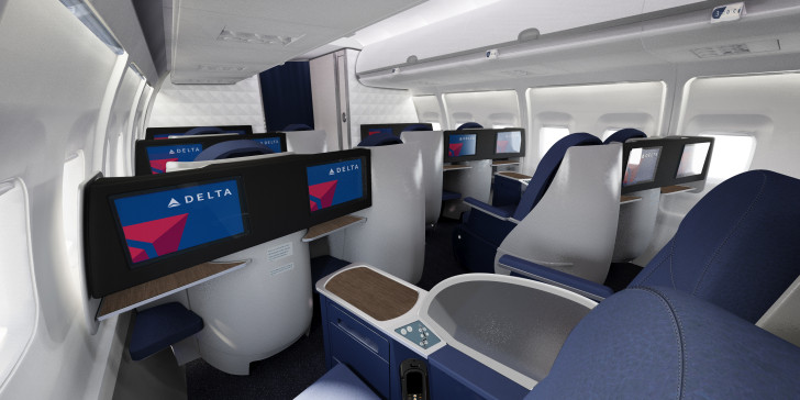 First Class Delta Airlines
