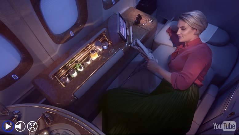 first class emirates seat
