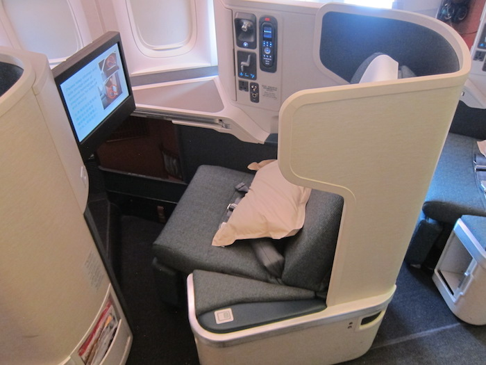 Cathay Pacific Business Class 777 seats
