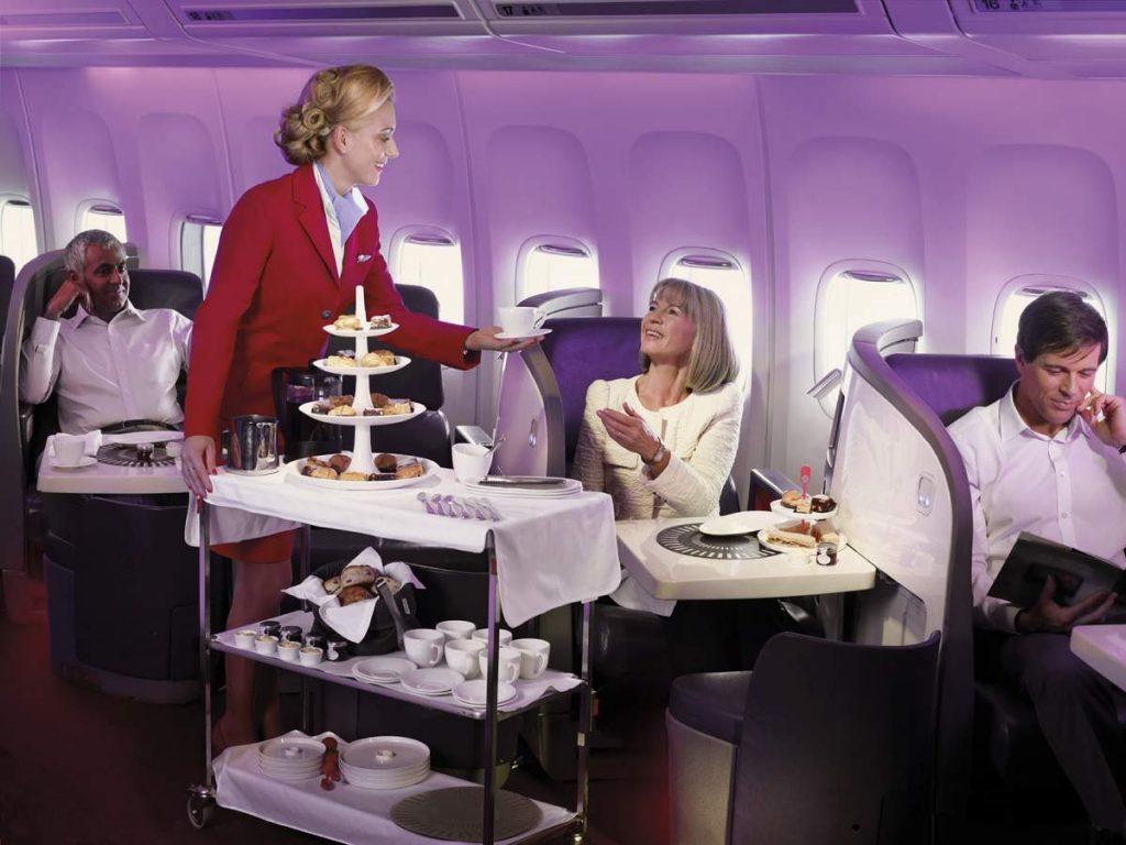 virgin-atlantic business class seats