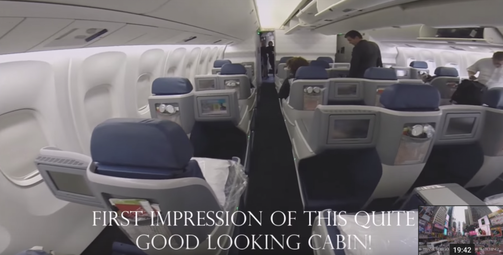 Review of Long-Haul Business Class on Delta One Boeing 767-300ER