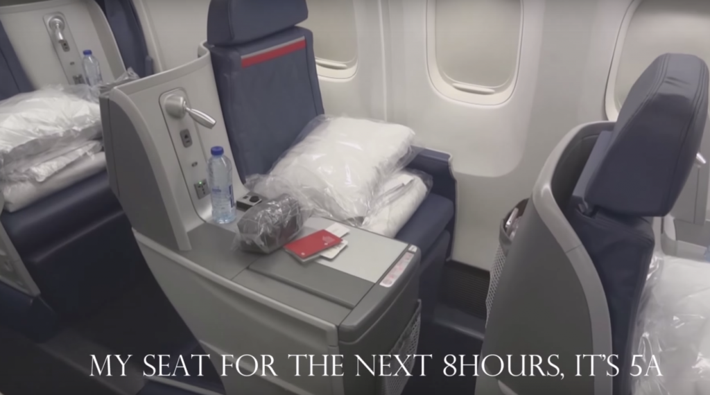 delta one seat business class