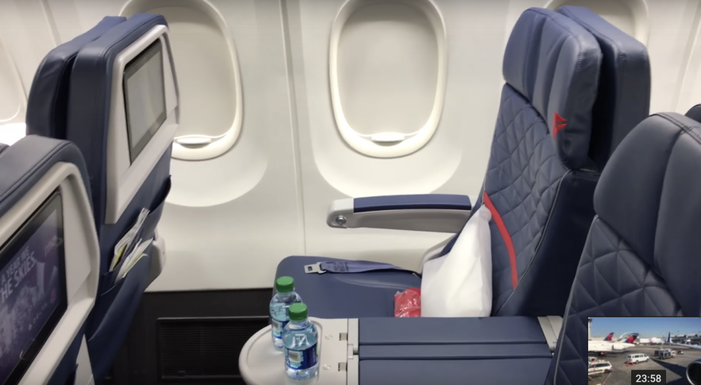 First Class Review Of Delta 737 900er
