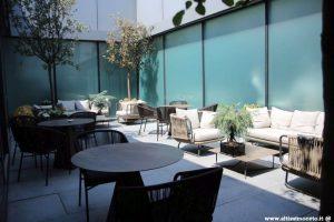 luxury restaurant in milan