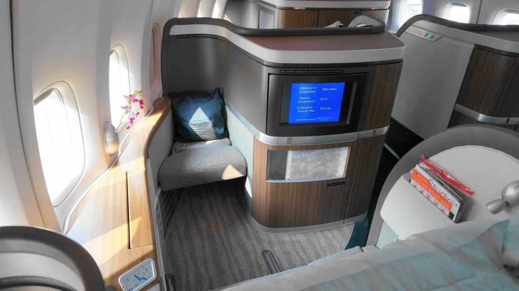 Cathay Pacific First Class 777-300er Review in 2017 ...