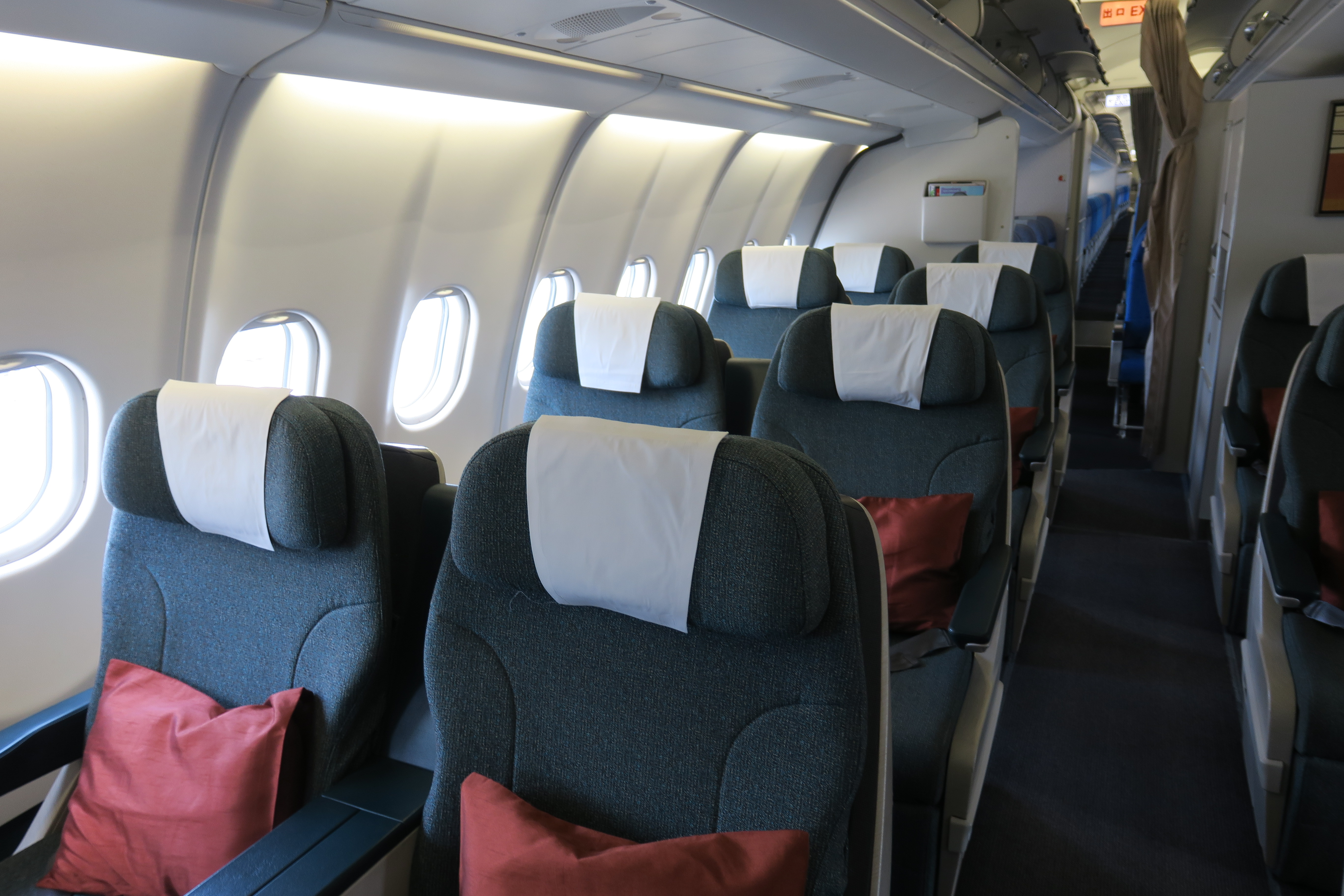 Best business class seats on Cathay Pacific