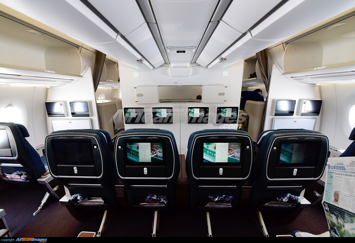 Best business class seats on Cathay Pacific 3
