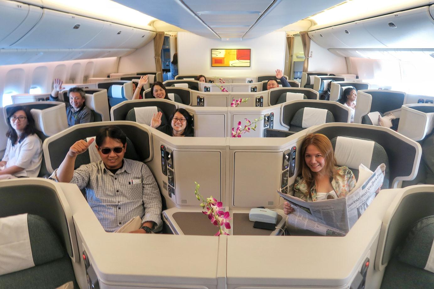 Best business class seats on Cathay Pacific 1