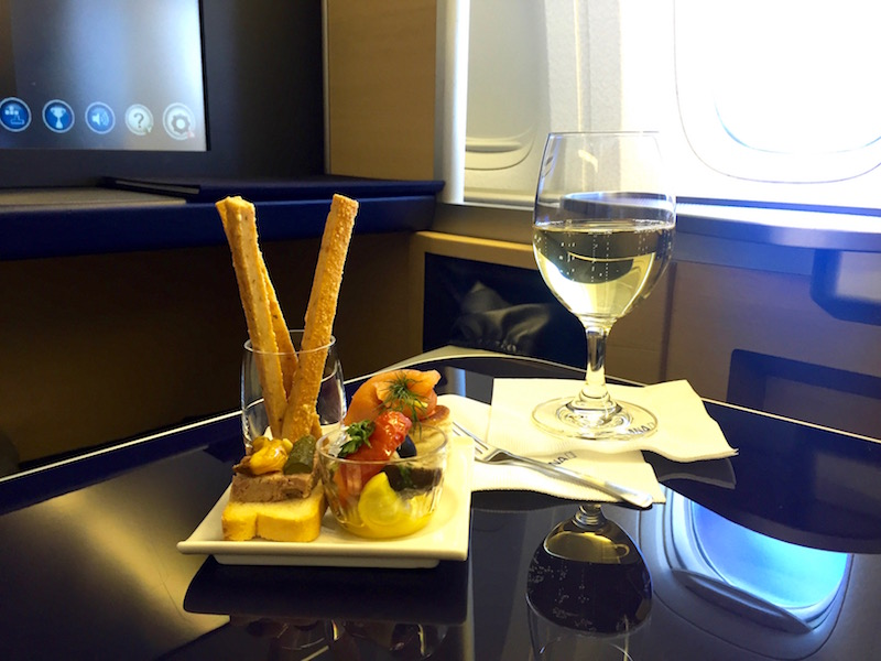 ANA All Nippon Airways First Class review
