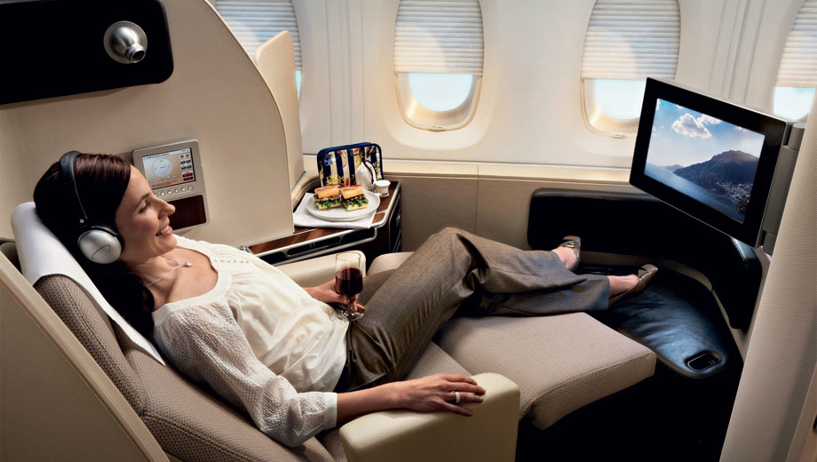 American Airlines business class to Singapore