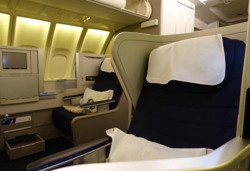 british airways Business Class to Paris