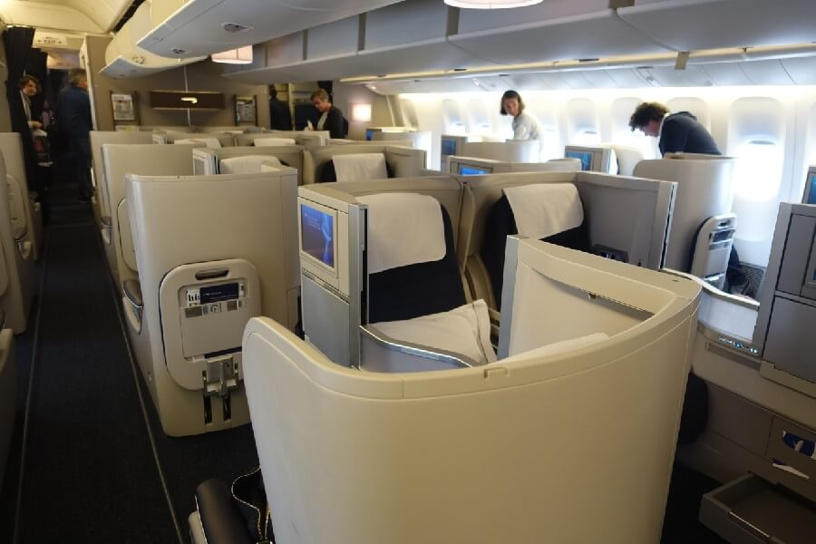 business class to Singapore by British Airways