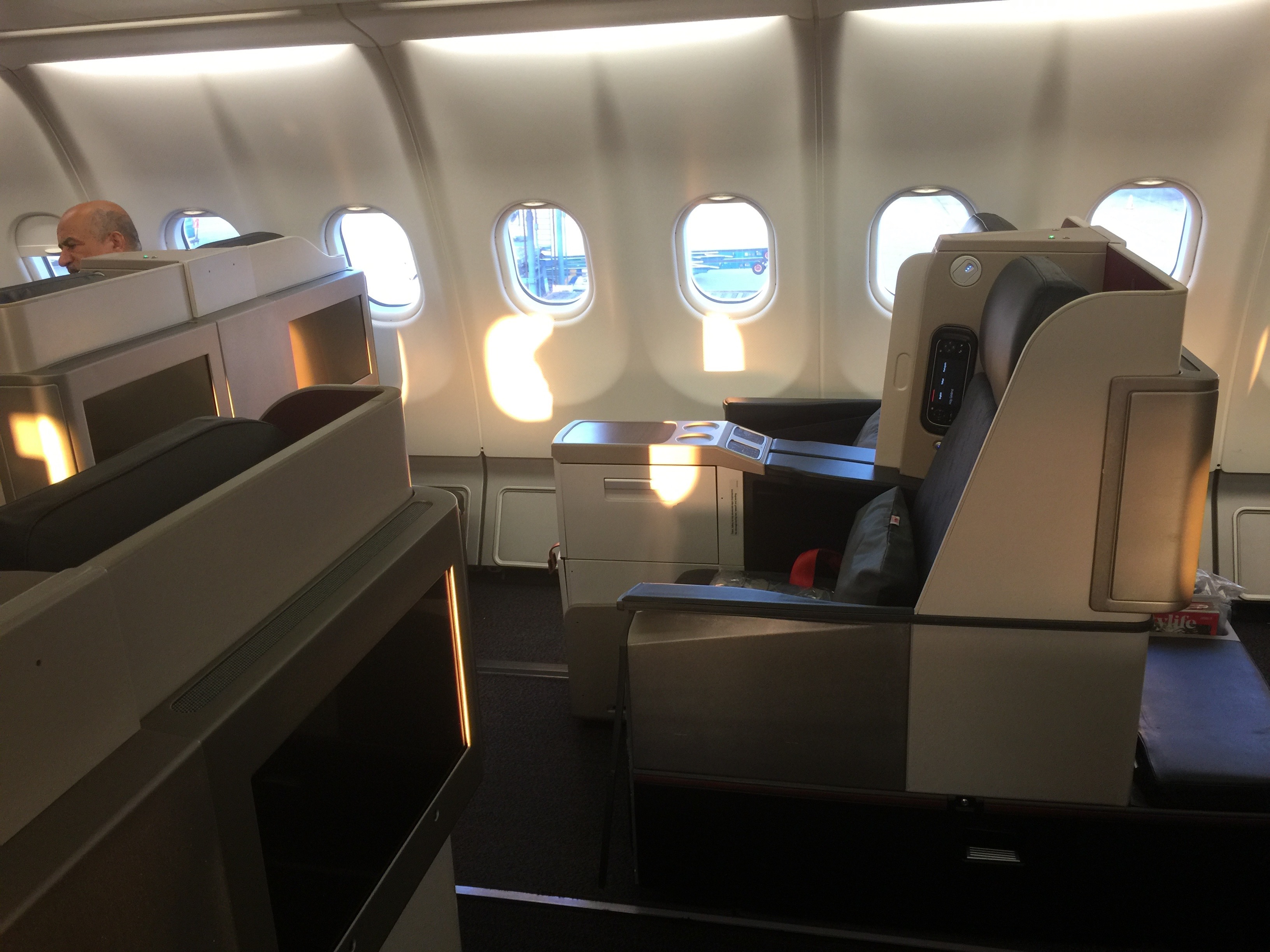 Turkish Airlines business class to Singapore