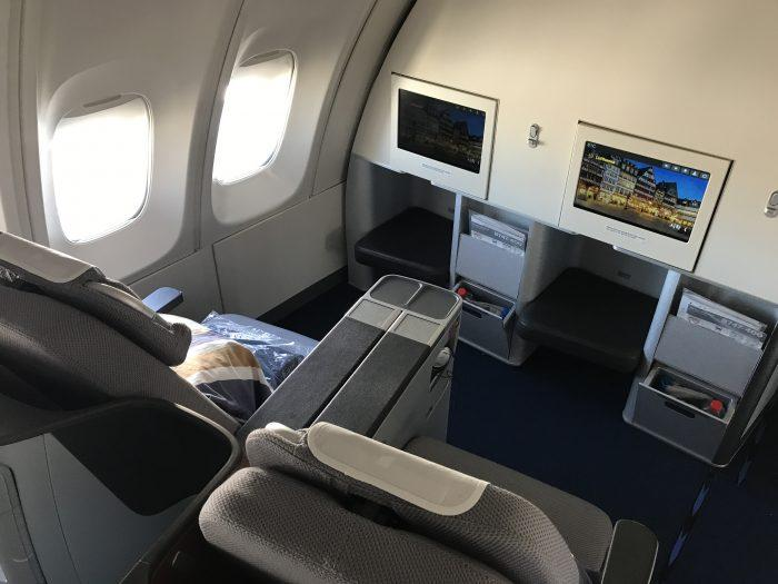 Lufthansa Business Class to Frankfurt