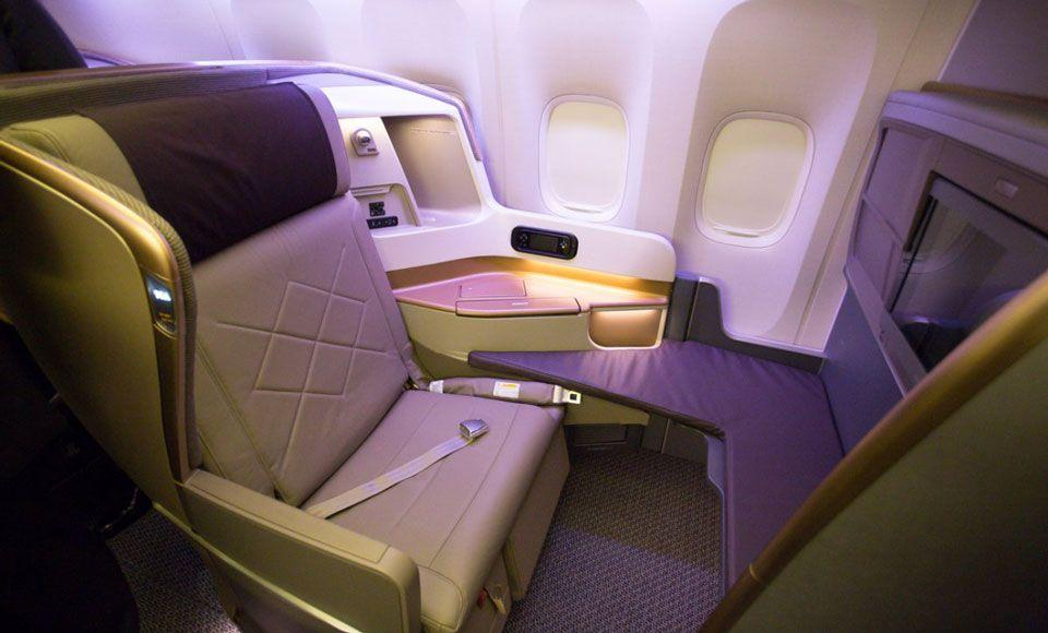 Singapore Airlines Business Class to Frankfurt