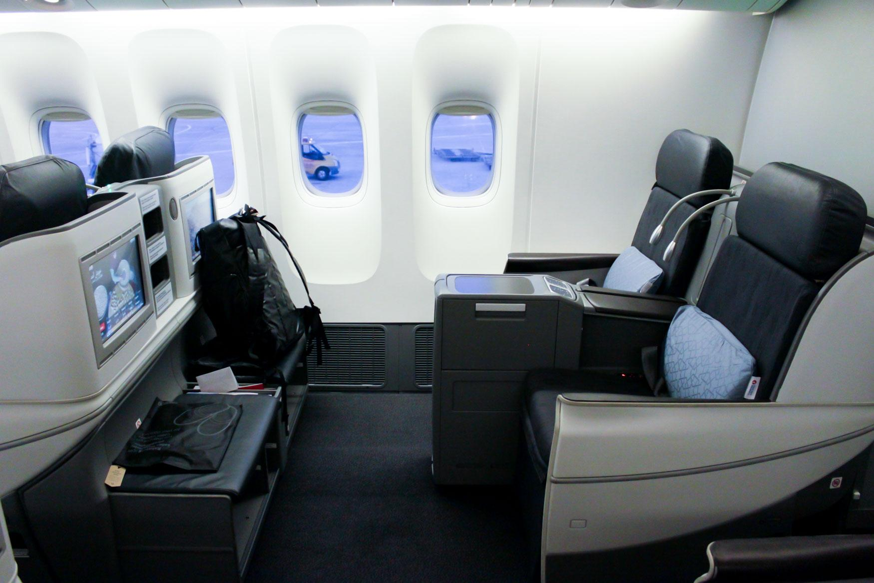 Turkish Airlines Business Class to Frankfurt