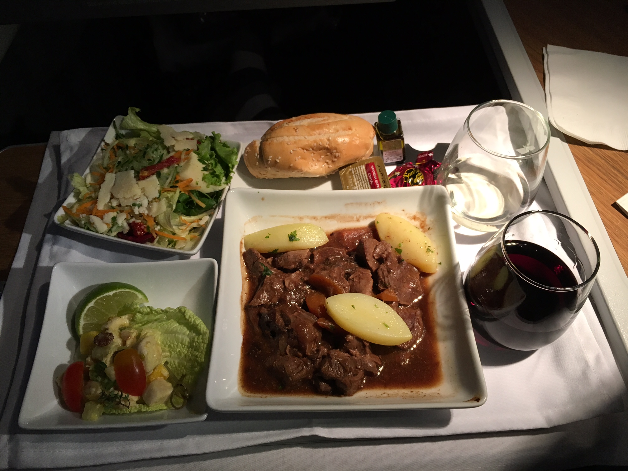 Business Class to Paris