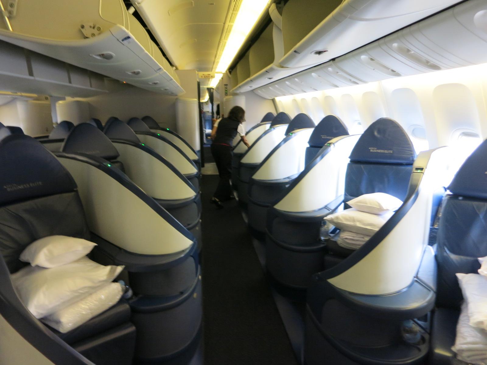 delta Business Class to Paris
