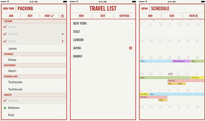 Travel-List-iPhone-and-iPad-App-Screenshot