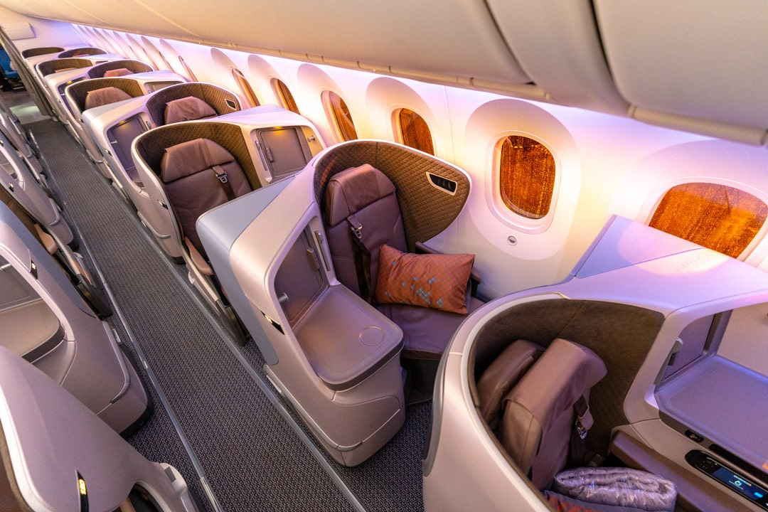 2020 review of the TOP 5 Business Class Airlines to Europe foto12