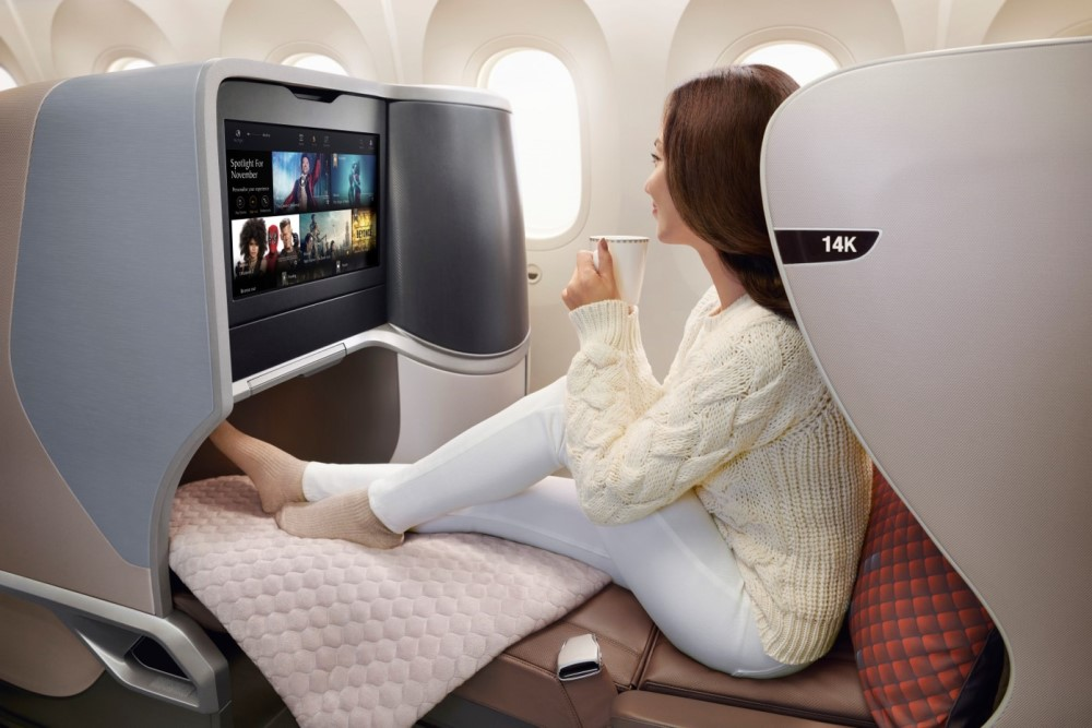 2020 review of the TOP 5 Business Class Airlines to Europe foto13
