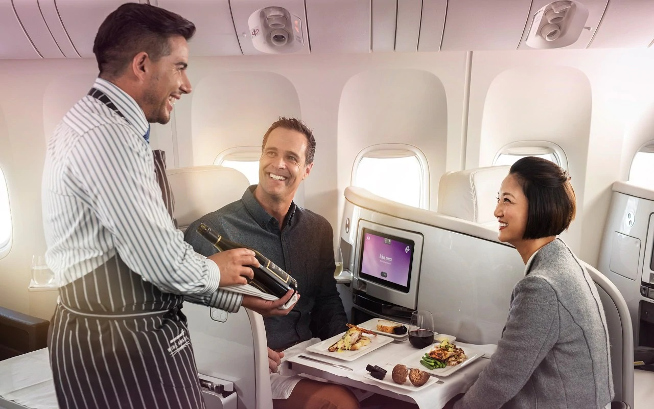 Best Business Class airlines to Australia foto9