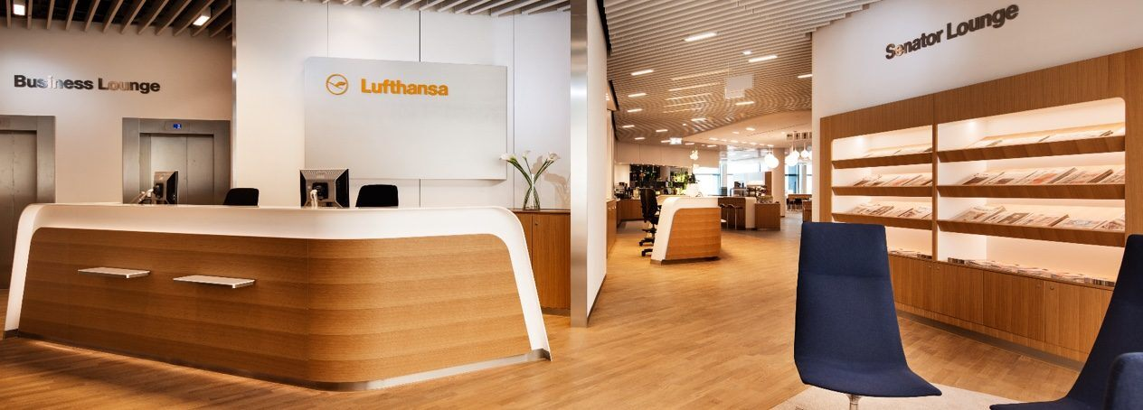 Lufthansa lounges